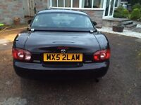 Mx5 with hardtop and private reg