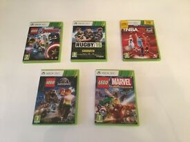 Xbox 360 games ,Lego games and sport games