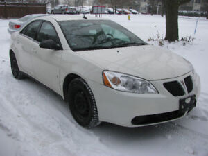 2008 Pontiac G6 SE Sedan ONLY 148638 KM E-TESTED SAFETY