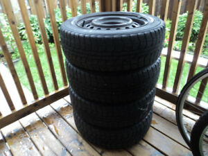 Winter Tires and rim - 185-65-R15