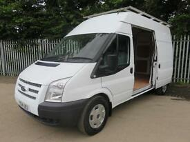 FORD TRANSIT 350 LWB HIGH ROOF 125 BHP HEATED SCREEN 3 SEATS