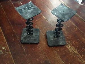 Metal Candlesticks Belleville Belleville Area image 1