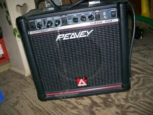 Peavey Rage 158 Guitar Amplifier in great condition.
