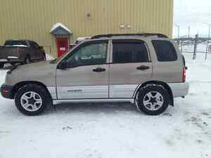 2002 Chevrolet Tracker VUS