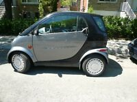 2005 Smart Fortwo gris Bicorps