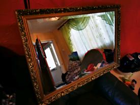 Antique Ornate Mirror for Sale