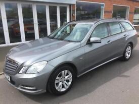 2011 MERCEDES BENZ E CLASS E250 CDI BlueEFF SE Edition 125 5dr Tip Auto