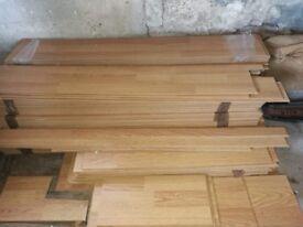 Pine/oak flooring