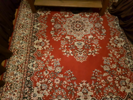 Persian style traditional rug