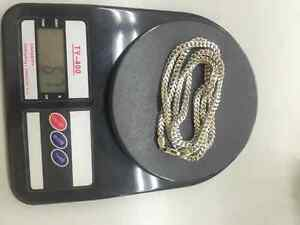 Massive White Gold Franco Chains 67g for Sale