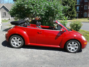 New Beetle  2008  VW  (décapotable)  cabriolet - PAS de rouille