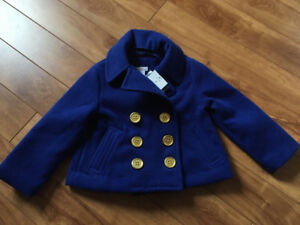 New with tags 2T dress coat
