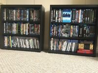 Ikea Besta shelf/shelves for blu rays/dvds. Blue ray shelf