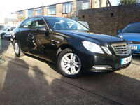 Mercedes-Benz E220 Bluefficency automatic 2.1CDI Odesion Black ONLY 25000 MILES