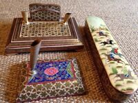 Decorative Persian Pen Holders Set