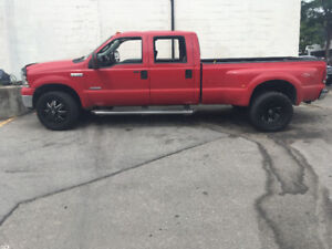 Ford f 350 super duty dually turbo deisle trucks for sale