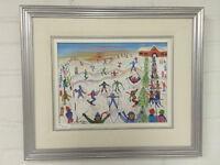 """Ski, Traineau et Planche a Neige"" by Claudine Peters"