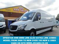 2014 64 MERCEDES-BENZ SPRINTER LASTEST MODEL FACELIFT SPRINTER 313 CDI 1 OWNER O