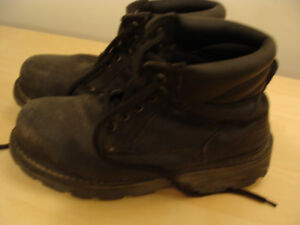 Mens Steel Toed Work Boots