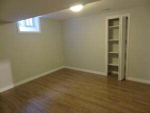 New oversized, modern and bright 1 bdrm basement apartment