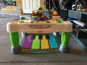 Step'n Play Piano By Fisher-Price