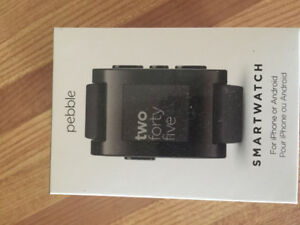 Pebble smart watch for android or iphone