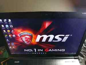 Gaming MSI laptop for sale