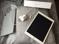 Apple IPad Air 2 - White and Silver - 16GB (Amazing condition)
