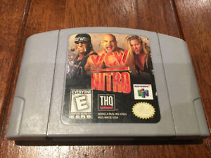 WCW Nitro N64 Cartridge