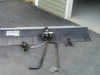 weight distributing hitch and mudflap