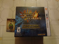 Monster Hunter 4 Ultimate 3ds collector's edition