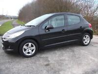 2009 59 PEUGEOT 207 1.4 VERVE 5D 73 BHP ** PART EXCHANGE WELCOME **