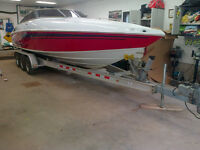2006 275 Baja Cuddy excellent shape on trailer 425hp HO 63+mph