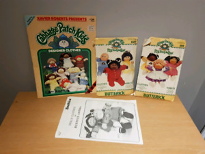 Vintage Cabbage Patch Kids Craft Lot