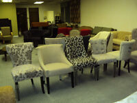 NEW DINNING/OCCASIONAL/ACCENT CHAIRS FOR LESS CALL 416-779-7651