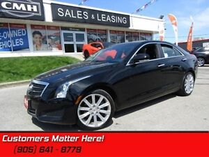 2013 Cadillac ATS 3.6 Luxury  LEATHER, SUNROOF, REAR CAMERA!