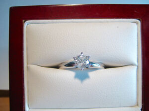 New 0.45 CT I1/H Diamond Solitaire Ring with BONUS!!!!