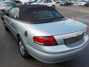 2001 Chrysler Sebring Limited Convertible, One of A kind