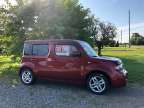 2012 Red Nissan Cube