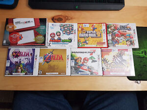 NEW Nintendo 3DS XL with games