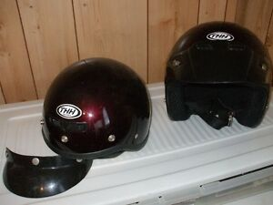 2 helmets for 80.00 ,and a XL Motorcycle cover for 40.00 Stratford Kitchener Area image 3