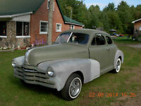 48 Pontiac Coupe Project Car