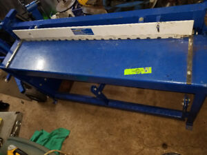 Metal shear 52 inch foot shear