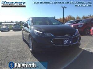 2017 Chevrolet Cruze LT  - Bluetooth -  SiriusXM - $131.62 B/W