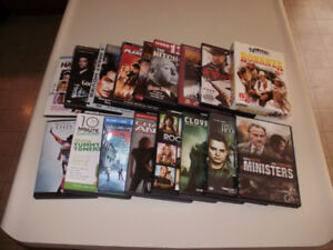 ***AWESOME !!! 16 Different Assorted DVD's !!!***