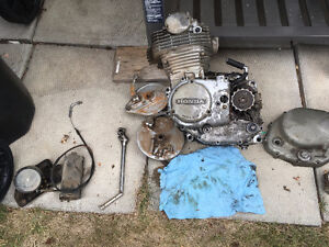 74 XL350 engine and parts