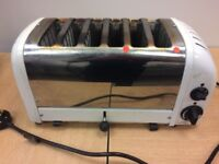 Dualit Commercial 6 Slot Toaster Two Elements Need Replacing