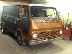 Old Skool - Cool - 1967 Chevy Van 108 - Unique & Hard to Find