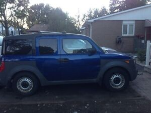 2004 Honda Element, manual