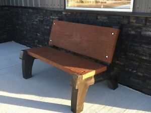 Concrete Benches and Concrete Tables